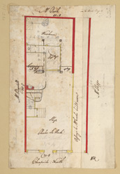 [Plan of property on Cheapside] 125-A